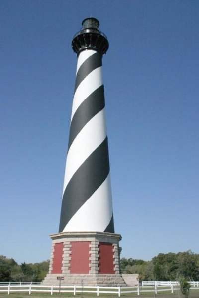 Cape Hatteras Lighthouse, N Carolina (Image source: Wiki Commons)
