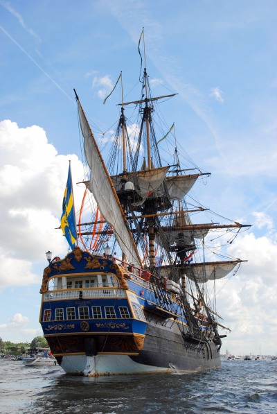 """Götheborg"" Stern view in 2010 (Image source: Wiki Commons)"