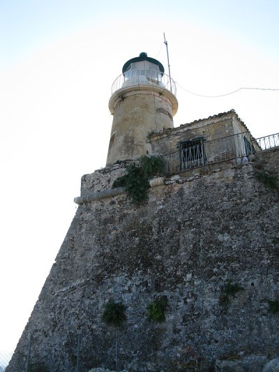 Corfu: Faros Sidero, Greece (Image source: World of Lighthouses)
