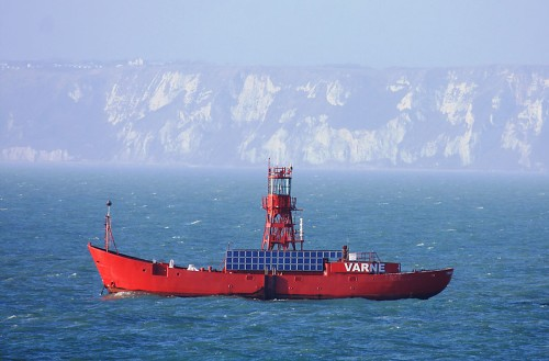 Varne Light Vessel, Dover Straight, UK (Image source: World of Lighthouses)