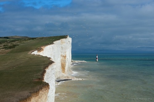 Eastbourne: Beachy Head Lighthouse (Image source: courtesy of World of Lighthouses)