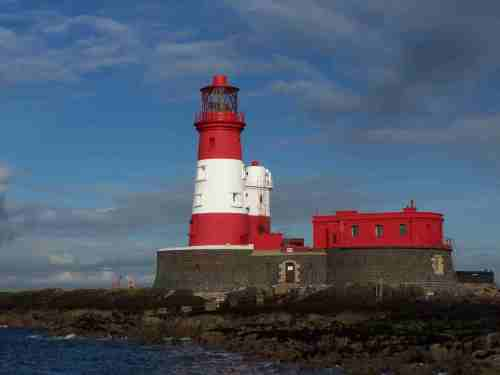 Longstone Lighthouse in the Farnes, UK (Image source: Wiki Commons)